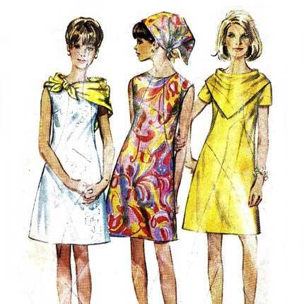 60 talet kläder
