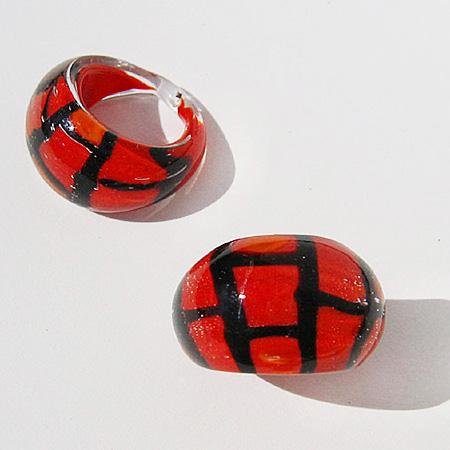 Röd Spider Small