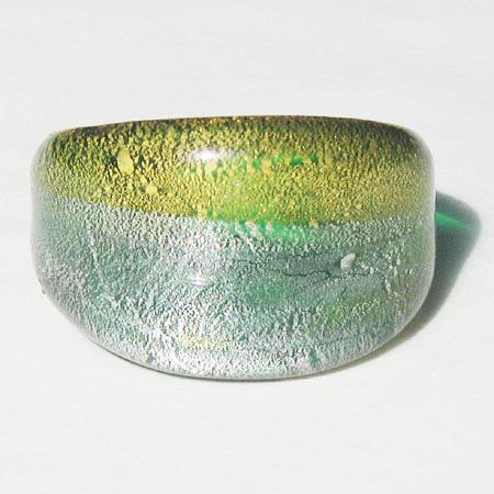 Moon Grön Glasring Small