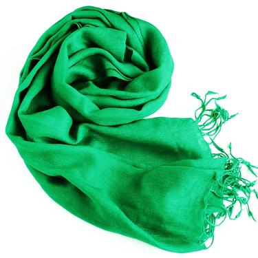SmaragdGrön UllSjal Elle