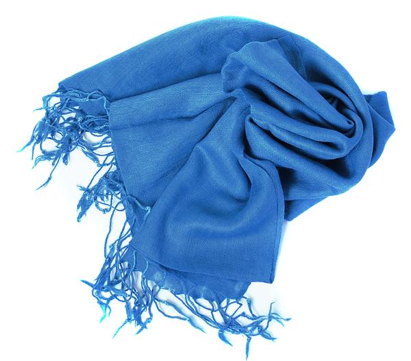 Blå UllSjal Elle