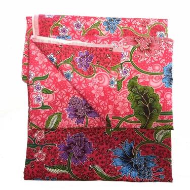 Hallonröd Violett Batik Sarong