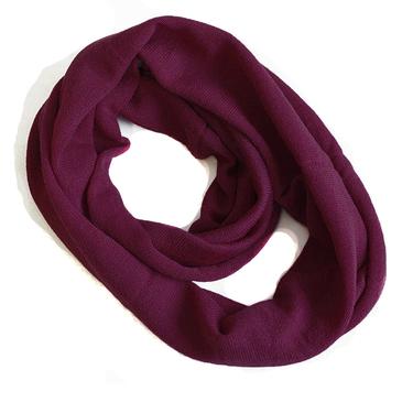 Mörkt violett Smal Tubsjal Mariedal Design