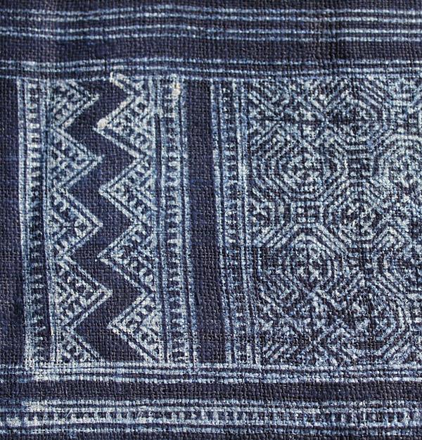 Hmong Indigo VaxBatik Textil 4m.