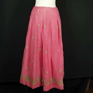 Rosa Indisk Kjol / Lehenga