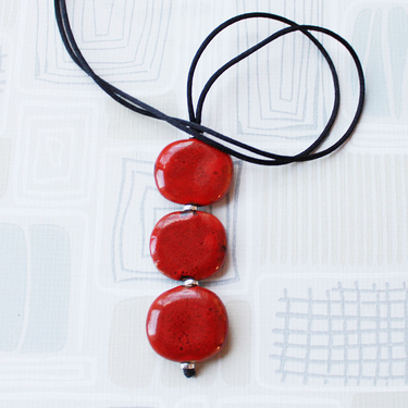 Smart Trio Röd Halsband