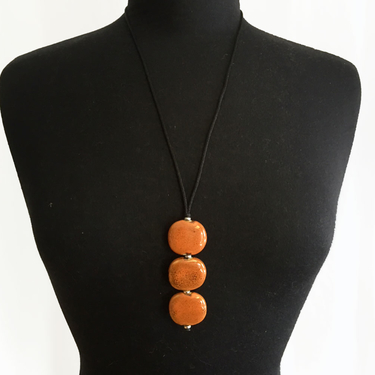 Smart Trio Orange Halsband