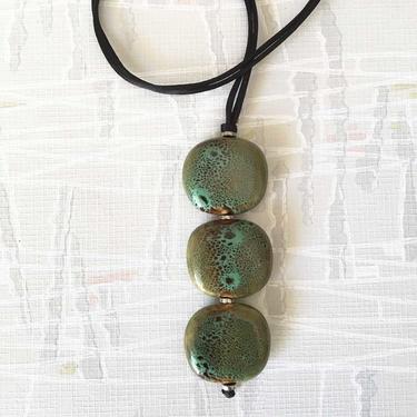 Smart Trio Grönt Halsband