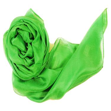 Vårgrön Sidenscarf Isa 2:a sort.
