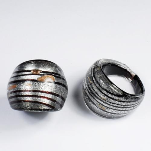 Maffig Svart Silver XLarge