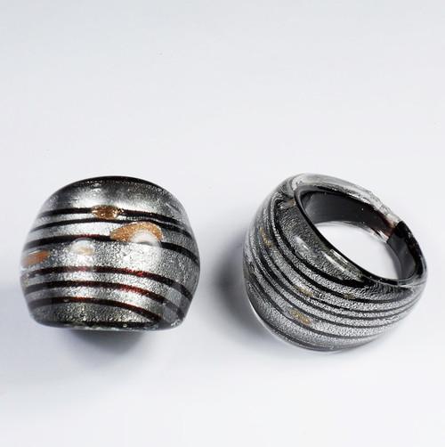 Maffig Svart Silver Medium