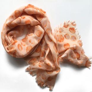 Sjal Rosenblad Orange