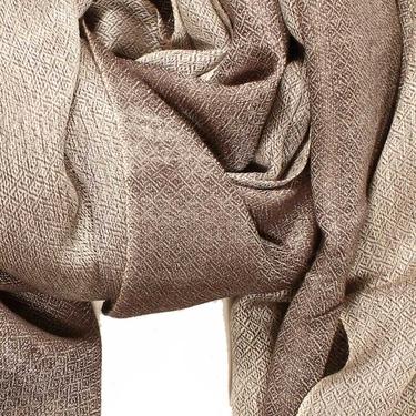 Diamond DeLux Beige-brun Sjal