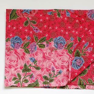 Indonesisk Rosa Batik Sarong