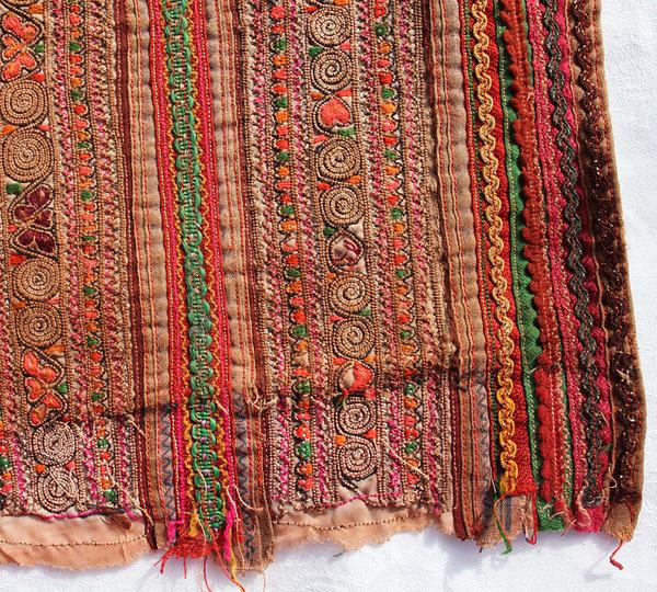 Vintage Hmongdräkts ärm