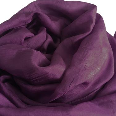 Mörkt Violett Sidensjal Belle