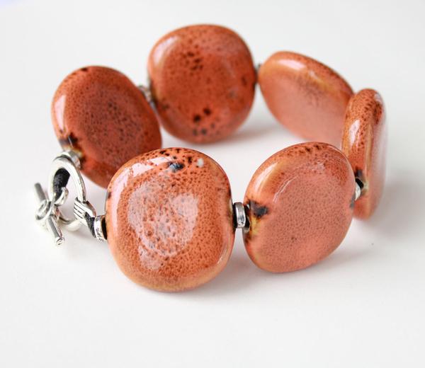 Keramikarmband Orange