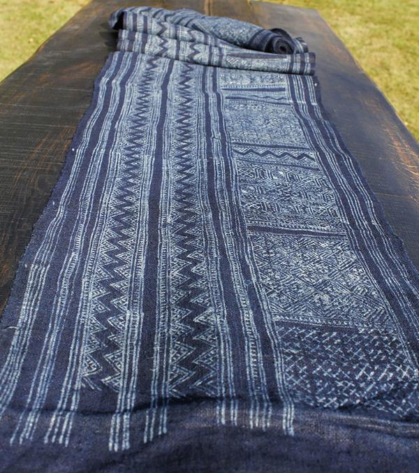 Hmong Indigo VaxBatik Textil 5m.