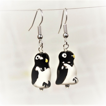 Pingvin Örhängen