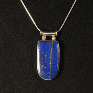 Lapis Lazuli SilverHänge
