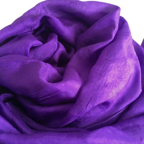 Violett Sidensjal Isabelle