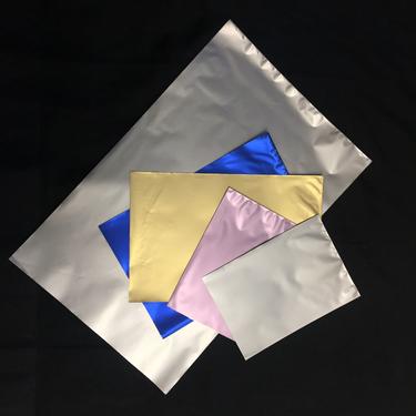 Presentpåse Blå Medium