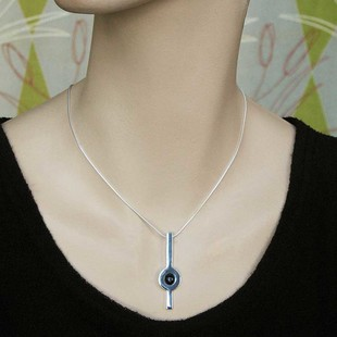 Circle Halsband Lila