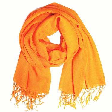 Orange UllSjal Elle 2: a Sort.